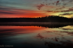 Mattagami Lake Fall Sunrise