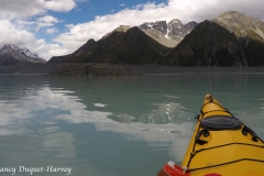 A Calm Afternoon Paddle on Glacier Waters