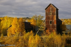 Right-of-Way Mine in Autumn