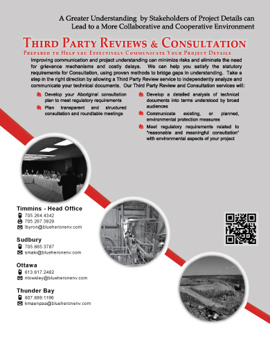 Third Party Reviews and Consultation