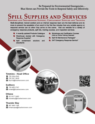 Spill Supplies and Services