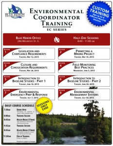 Environmental Coordinator Training Series