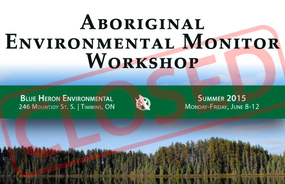 Aboriginal Environmental Monitor Workshop