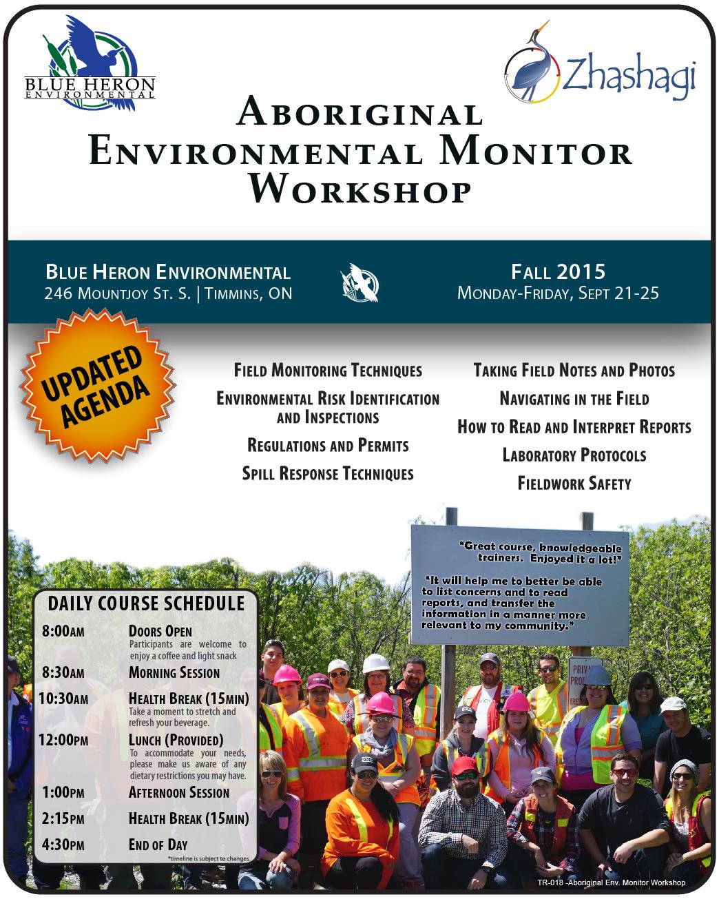 Aboriginal Environmental Monitor Workshop