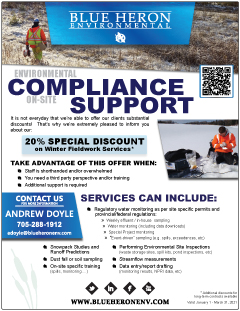 On-Site Environmental Compliance Support Flyer