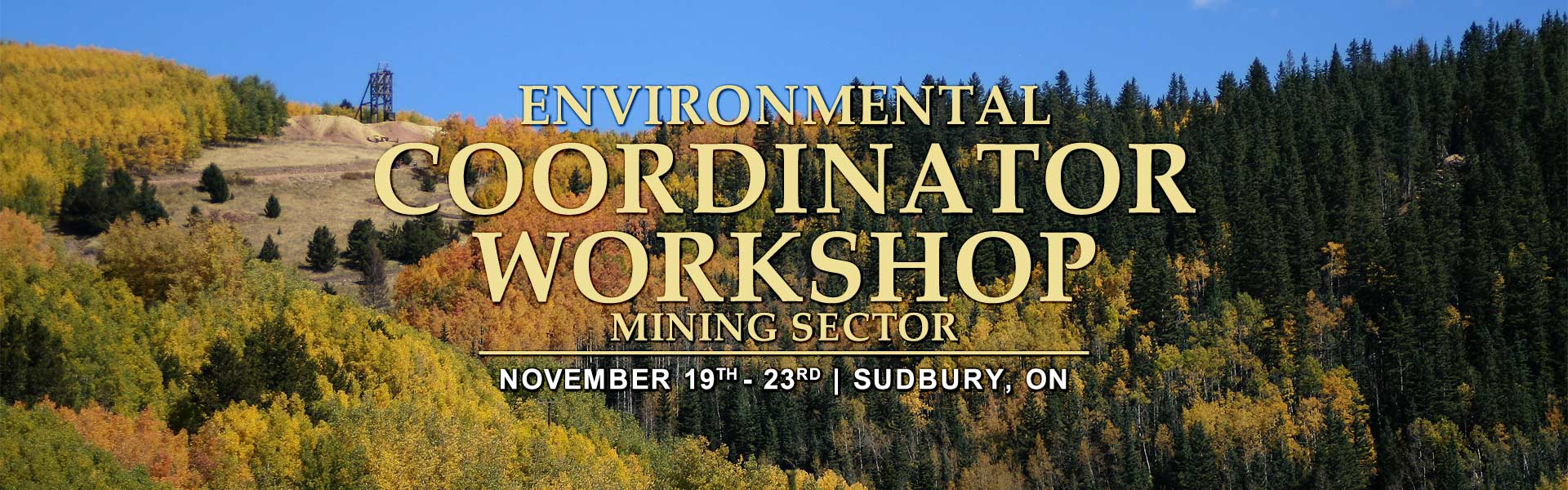 Environmental Coordinator Workshop Training | Sudbury, Ontario