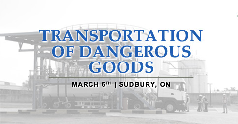 Transportation of Dangerous Goods (TDG) Sudbury