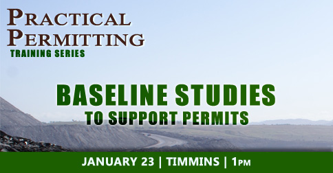 Practical Permitting Training - Baseline Studies to Support Permits