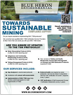Mining Association of Canada Towards Sustainable Mining