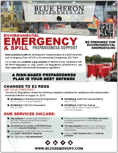 Environmental Emergency & Spill Preparedness Support
