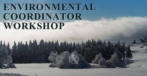 Environmental Coordinator Workshop is being hosted between February 22-26, 2021