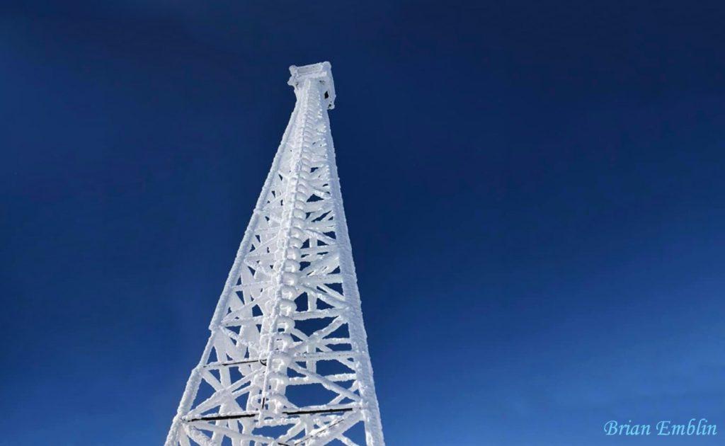 Ishpatina Ridge Tower by Brian Emblin