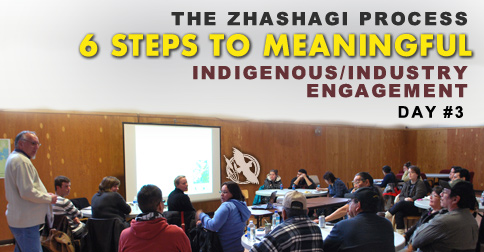 The Zhashagi Process - 6 Steps to Meaningful Indigenous/Industry Engagement - Day 3