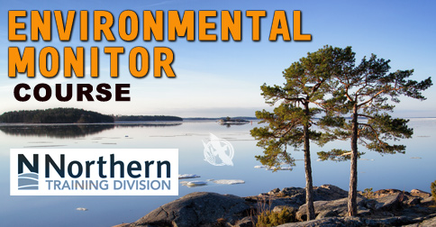 Environmental Monitor Course with the Northern College Northern Training Division