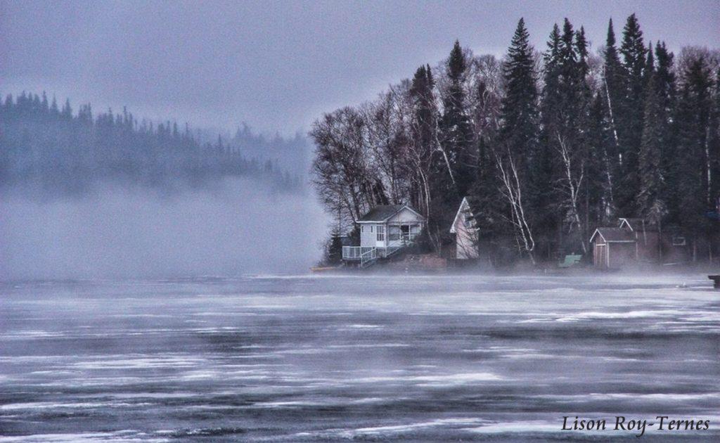 Fog Rolling In by Lison Roy-Ternes