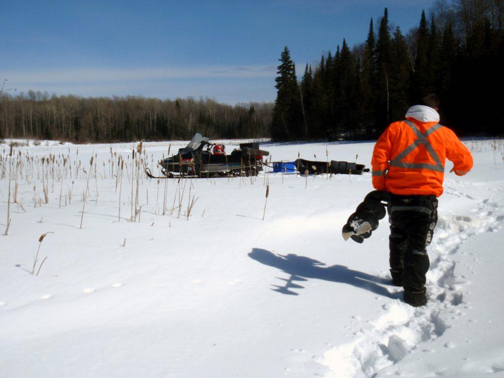 Winter Surface Water Monitoring