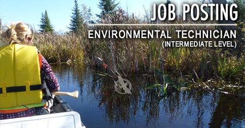 Career Opportunity for Environmental Technicians
