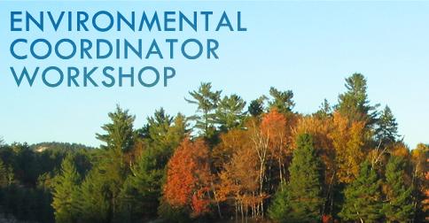 Environmental Coordinator Workshop - November 15-19, 2021